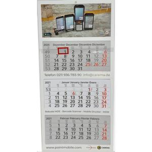 3-Monatskalender kostenlos
